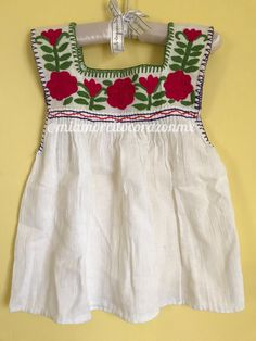 Mexican blouse blusa mexicana mexican party fiesta mexicana day of the dead cinco de mayo frida uno fiesta first birthday halloween Mexican Top, Mexican Shirts, Mexican Blouse, Mexican Outfit, Mexican Dresses, Mexican Party, Mexican Clothing, Embroidery Fashion, Embroidery Dress