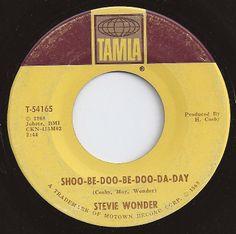 Shoo-Be-Doo-Be-Doo-Da-Day / Stevie Wonder / #9 on Billboard 1968 Sweet Love Quotes, Love Is Sweet, My Love, 45 Records, Vinyl Records, Record Art, Fun Songs, Oldies But Goodies, Stevie Wonder