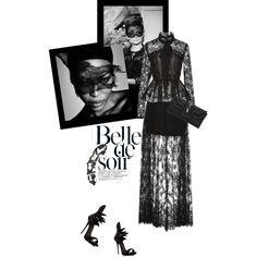 Black lace story Outfit Idea 2017