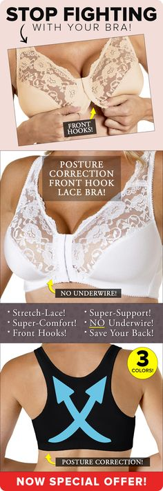 The post Front hooks, gorgeous stretch-lace, super comfort! appeared first on Special Days. Fashion Kids, Fashion Outfits, Womens Fashion, Comfortable Bras, Estilo Fashion, Redhead Girl, Bra Lingerie, Bra Styles, Stretch Lace