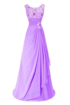 New Lace Formal Chiffon Ball Gown Evening Party Bridesmaid Prom Dress Long Maxi