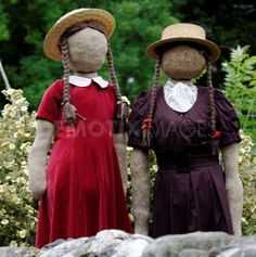 girl garden scarecrow | ... creations from this year's Kettlewell Scarecrow Festival | Demotix.com