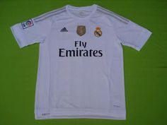 Real Madrid 2015 White Jersey