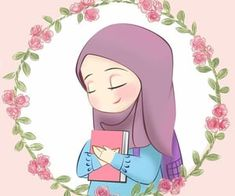 Discovered by غم في عشق ✨. Find images and videos about girl, draw and hijab on We Heart It - the app to get lost in what you love. Cute Cartoon Wallpapers, Cartoon Pics, Art Magazin, Hijab Drawing, Islamic Cartoon, Anime Muslim, Hijab Cartoon, Blog Backgrounds, Islamic Girl