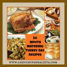 50 Mouth Watering Thanksgiving Recipes