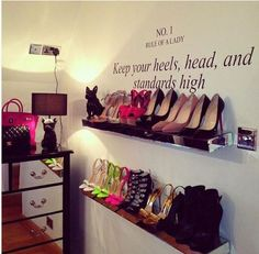 Keep your heels, head and standards high   on imgfave