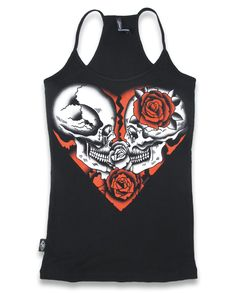 Pin up,Rockabilly,Custom Style Liquor Brand Damen GYPSY QUEEN Tank-Tops.Biker