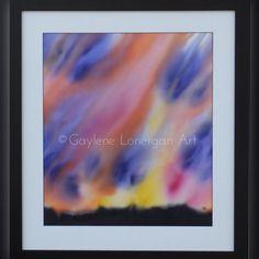 "1 Likes, 1 Comments - Gaylene Lonergan (@gaylenelonerganart) on Instagram: """"Fire Song"" - Original Art Silk Painting #gaylenelonerganart #art #vibrant #bright #artist #paint…"""