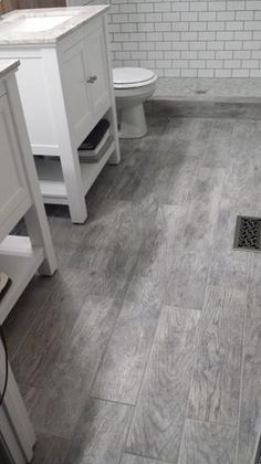 Montagna Dapple Gray 6 In X 24 In Porcelain Floor And