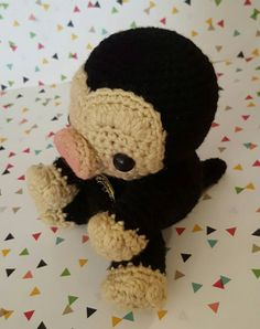 RESERVED  A Niffler Amigurumi by OutlawHeartCreations on Etsy
