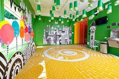 Image result for emerald city mural