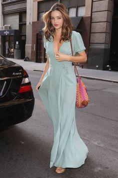 Miranda Kerr on the street in New York