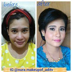 Nura Make Up Of ADITV: make up kondangan