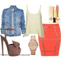 Neon (Part 4), created by adoremycurves on Polyvore