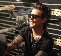 SYN AT NAMM 2014  I love his smile (^_^)