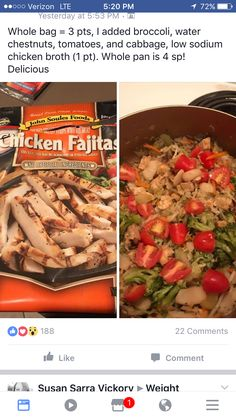 Weight Watchers Lunches, Weight Watchers Meal Plans, Weigh Watchers, Weight Watchers Smart Points, Weight Watchers Diet, Weight Watcher Dinners, Weight Watchers Chicken, Weight Watchers Desserts, Ww Recipes