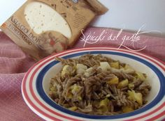 Spicchi del gusto: Fusilli al grano saraceno broccolo romano e asiago