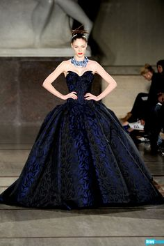 This purple gown was made for fashion royalty.  Click for a Cuckoo for Coco (Rocha!) gallery.