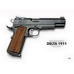 Larry Vickers Delta 1911. I believe these were built for CAG by the Springfield Custom Shop