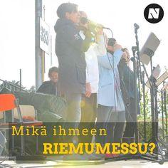 Lauantaina klo 15:00 @stadinevikset17 tarjoaa Riemumessun keskellä Helsinkiä! Tuu mukaan ja tsekkaa nuotta.com:ista syyt sille, miksi Riemumessu on Evisten parasta antia. ☀️✝️ #nuotta #stadinevikset17 #evankeliumijuhla #riemumessu