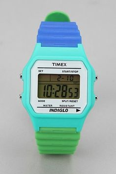 cool/cute/ i want it for me/pop of color!  [Timex 80 Colorblock Watch]