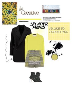 """""""I used to love you"""" by lseed87 ❤ liked on Polyvore featuring Line, Haider Ackermann, River Island, Maison Margiela, Marmont Hill, Letter2Word, yellow, paint and paintiton"""