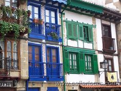 Hondarribia in Spain