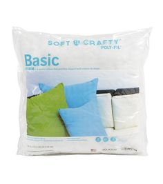 "Soft N Crafty Basic 18"" x 18"" Pillow"