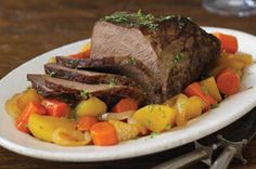 Prairieland Pot Roast- Any Midwesterner would agree that our juicy, veggie-ful pot roast is a prairie-worthy dish. Simple prep makes this low-cal meal an instant classic. Kraft Foods, Kraft Recipes, Pot Roast Recipes, Beef Recipes, Dinner Recipes, Recipies, Dinner Ideas, Ninja Recipes, Meal Ideas
