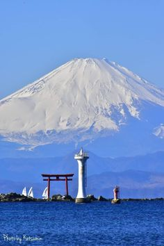 Monte Fuji, Mount Rainier, Seattle Skyline, Mountains, Nature, Travel, Voyage, Viajes, Traveling
