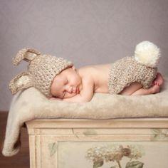 Sweet sleeping bunny