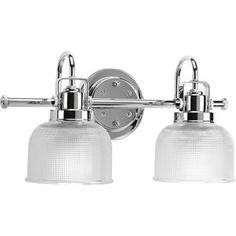 Progress Lighting�2-Light Archie Chrome Bathroom Vanity Light