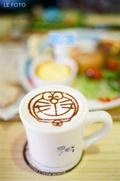 Latte Art - Doraemon ♥ Coffee