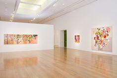 Sala de la exposición de Beatriz Milhazes. Foto: Jorge Miño