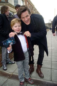 Bowties are, in fact, cool. And this is adorable... I think I just fell in love with Matt Smith more XD