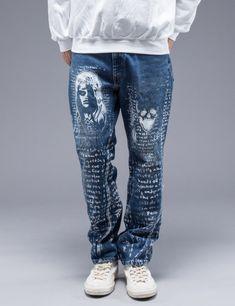 5218cad7e8f Five Years Wash Wide Straight Denim Pants