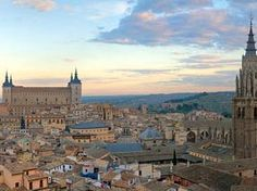 A picture of Toledo, Spain one of the Spanish cities with quite a lot of fully intact, very old buildings.