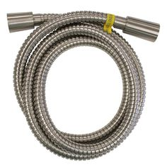 AquaSource 0.5-in Chrome Shower Hose in the Bathroom & Shower Faucet Accessories department at Lowes.com Shower Hose, Shower Arm, Bathroom Shower Faucets, Metal Hose, Glass Vessel Sinks, Wall Mount Faucet, Delta Faucets, Faucet Handles, Kingston Brass