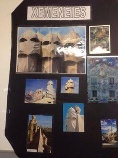 Mural de Gaudí. Gaudi, Picasso, Frame, Artist, Home Decor, Picture Frame, A Frame, Interior Design, Frames