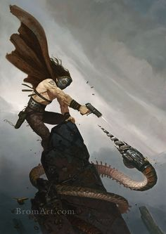Drill Head by Gerald Brom