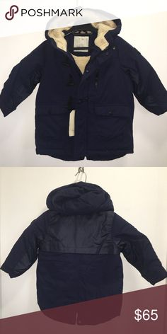 Zara Boys Fur Lined Parka Zara Boys Fashion Collection   Fur & quilted lined Navy blue parka with hood   Size 4 years  NWT   Very modern, stylish, and warm!  Check out my other items ! I ship same or next day📬 Thanks for looking ! Zara Jackets & Coats