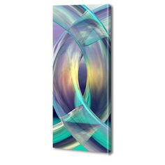 Menaul Fine Art 'Rings Tall' by Scott J. Menaul Graphic Art on Wrapped Canvas Size: