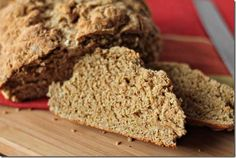 Authentic Irish Brown Bread - Recipe My mum used to make this every day.. we would only eat it straight out of the oven