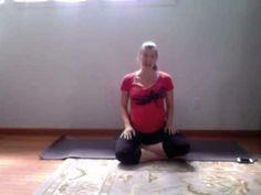 ▶ Pregnancy Yoga Week 21 - Kick, Punch, Jab - Mini meditation - YouTube