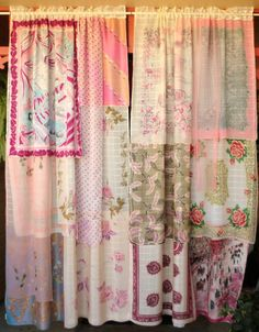 La Vie En Rose - Handmade Gypsy Curtains