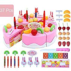 37Pcs Toy Birthday Cake