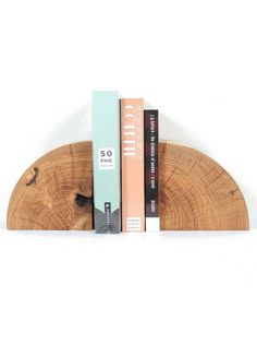 Marvin Freitas Solid Wood Bookends - Maple