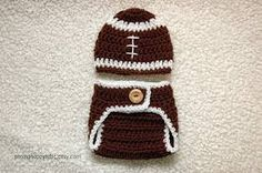 Football Newborn set