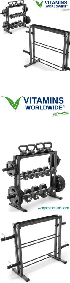 Weight Storage 179819: Weight Storage Rack Stand Combo Plate Dumbbell Kettlebell Holder Home Fitness -> BUY IT NOW ONLY: $95.48 on eBay! https://www.kettlebellmaniac.com/shop/ https://www.kettlebellmaniac.com/shop/ https://www.kettlebellmaniac.com/shop/