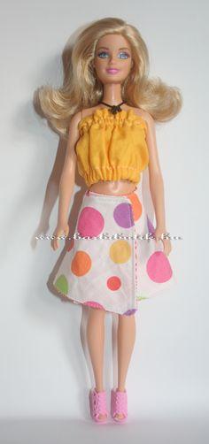 Barbie lapszoknya. / Barbie skirt